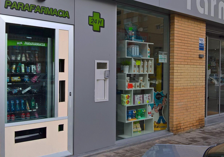 maquinas vending parafarmacia